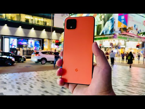 Pixel 4 XL Oh So Orange Street Tech Review - The Android IPhone!