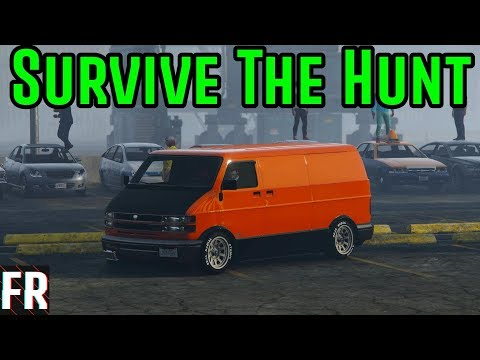 Gta 5 Challenge - Survive The Hunt #8