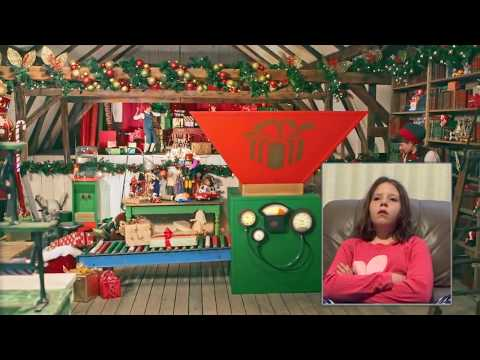 Portable North Pole Message - Ella's Reaction - PNP 2017