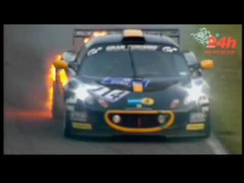 Brennender Lotus Nordschleife 24h 2010