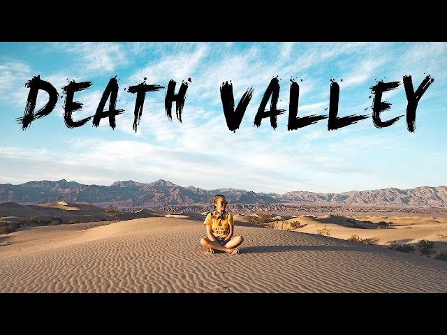 DEATH VALLEY & BEYOND | GoPro, Vlog