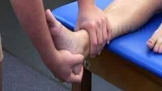 Ankle - Anterior Drawer Test (Test 1)
