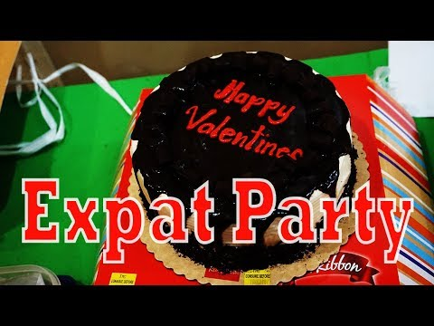 Philippine Valentine's Day Party - Living in the Philippines