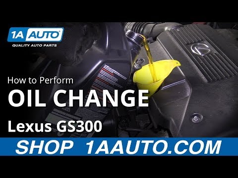 How to Change Engine Oil 98-05 Lexus GS300