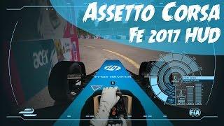 Assetto Corsa - Formula E 2017 HUD (Onboard Sebastien Buemi)