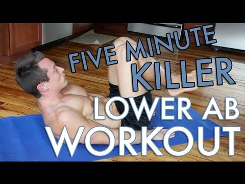 5 Minute Lower Ab Workout!