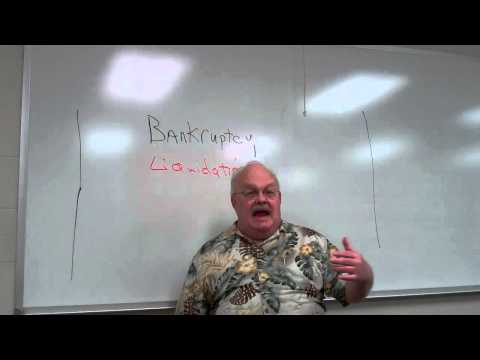 Bankruptcy Liquidation and Chap 2 Intro 001
