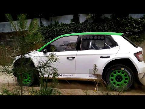 Pontus Tidemand Test Skoda Fabia R5| Felgueiras-Santa Quitéria WRC Rally Portugal  2017