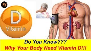 Why Your Body Need Vitamin D???  What Are Vitamin D Deficiency Symptoms???