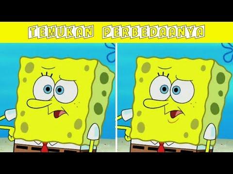 Tes Kejelian Mata !!! Temukan Perbedaan Perbedaan Gambar Berikut - Edisi Spongebob Squarepants