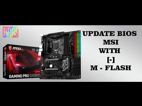 How to flash msi bios : FOREX Trading
