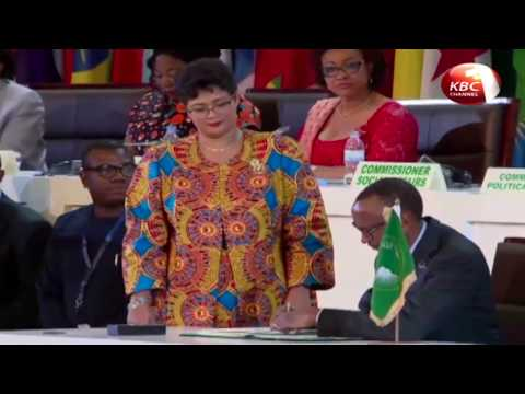 President Kenyatta joins other African leaders in signing of African Continental Free Trade Area