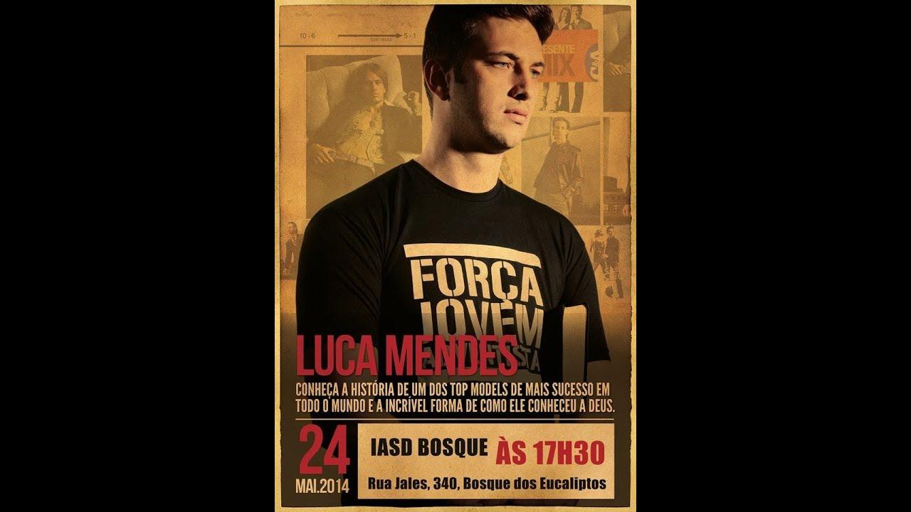 Culto Com O Ex-modelo Luca Mendes 24/05/2014