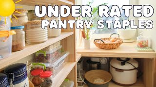 3 UNDERRATED PANTRY ITEMS  Pantry Tour