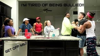 """TIRED OF BEING BULLIED"" PRANK ON AR'MON AND TREY, PERFECTLAUGHS, EM AND VON, QUEEN, AND IMJUSTAIRI"