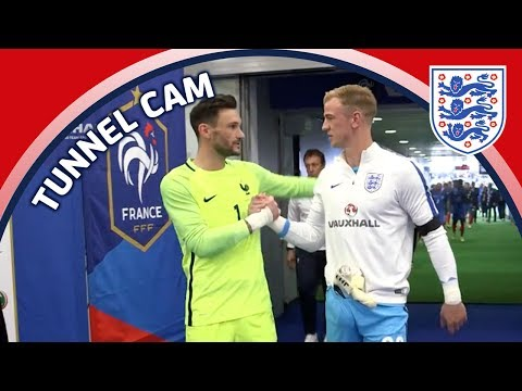 Tunnel Cam - France vs England in Paris | Inside Access