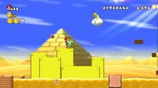 New Super Mario Bros Wii 新 超級瑪利歐兄弟Wii  HD 第二大陸 沙漠 2-5
