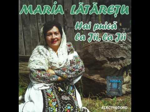 Maria Lătărețu - Pierire-ai dorule azi