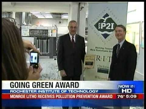 RIT on TV: Pollution Prevention Award