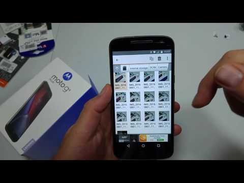 Motorola Moto G4 Plus How to Move Files Photos Videos Music Folders from Internal Storage to SD Card