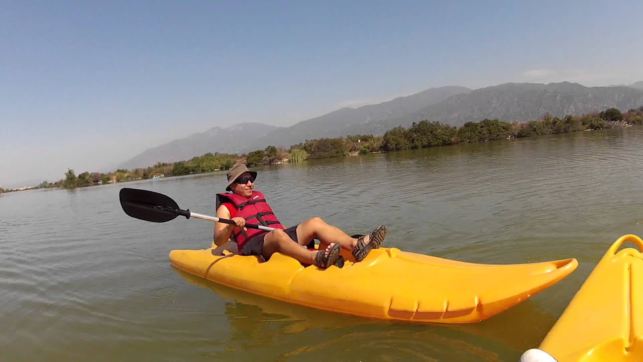 My Kayak Adventure At Santa Fe Dam 1 Of 2 Youtube