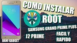 Como instalar ROOT Facil y rapido Samsung Grand Prime Plus | J2 Prime | Magisk | 2018 thumbnail