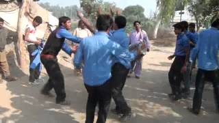 Free style bhangra of District Gujrat, Punjab, Pakistan