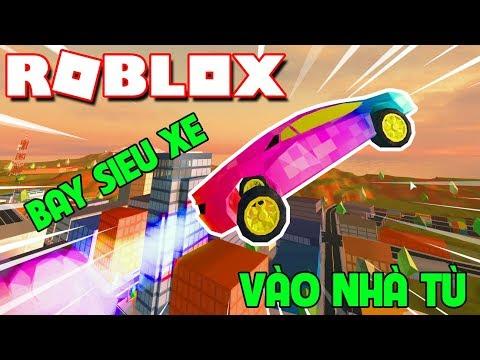 Roblox | KIA CHƠI DẠI: DÙNG ROCKET FUEL BAY SIÊU XE VÀO NHÀ TÙ - Jailbreak | KiA Phạm