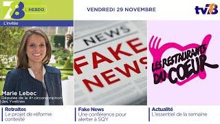 7/8 L'Hebdo. Edition du vendredi 29 novembre 2019