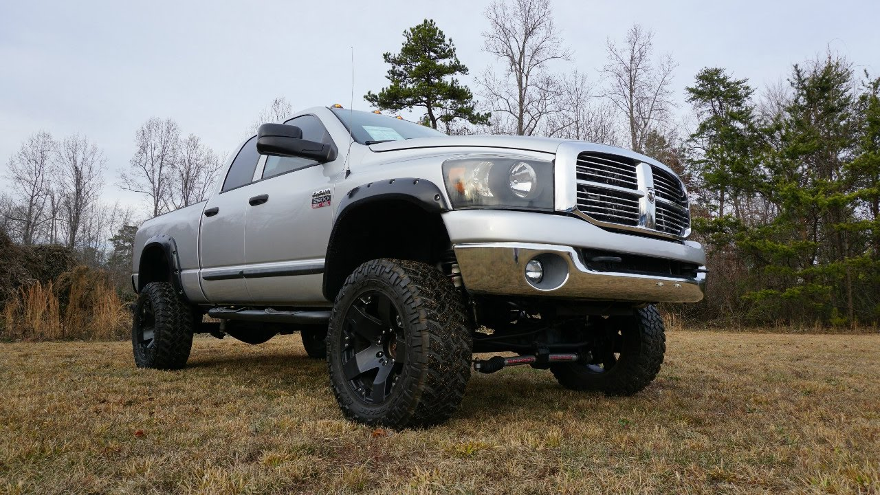 6 inch lifted 2007 ram 2500 quick look