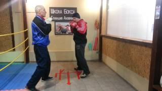 Школа бокса Геннадия Аношкина. Урок 9: защита от ударов в боксе.