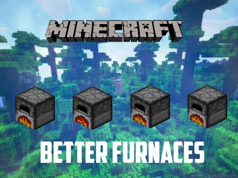 Minecraft Mod Review | Better Furnaces! - YouTube