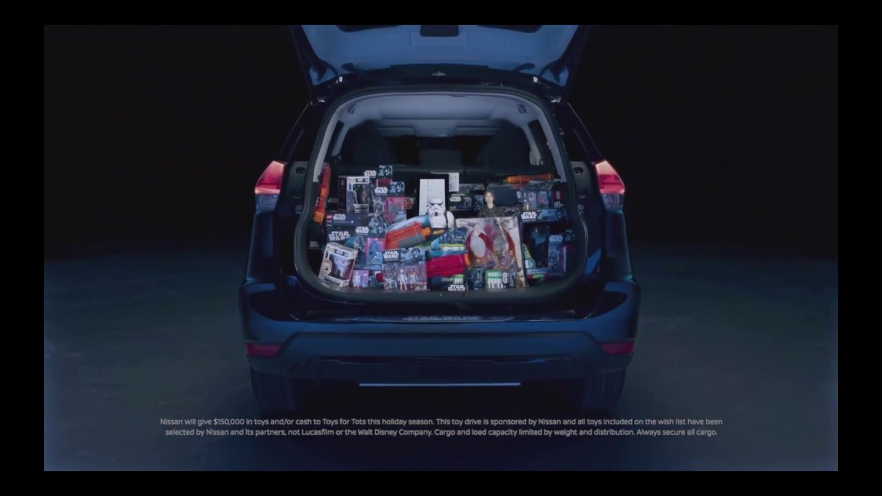Nissan Star Wars Rogue Amazon Toy Drive