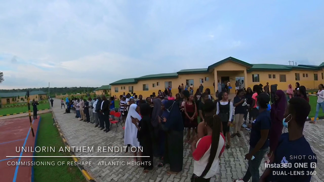 Download Rendition of Unilorin Anthem - Commissioning of RESHAPE at Atlantic Heights