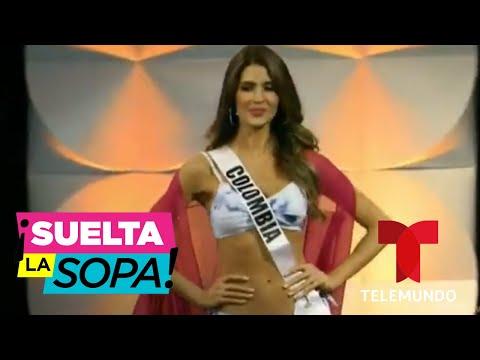 Gabriela Tafur, Miss Colombia, reacciona a las críticas de Lucho Borrego | Suelta La Sopa