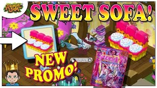 NEW ANIMAL JAM PROMO 🍰 SWEET SOFA IS AWESOME! FIRST LOOK