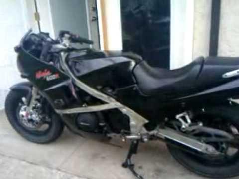 Start Up And Walkaround Kawasaki Gpz 600r Ninja