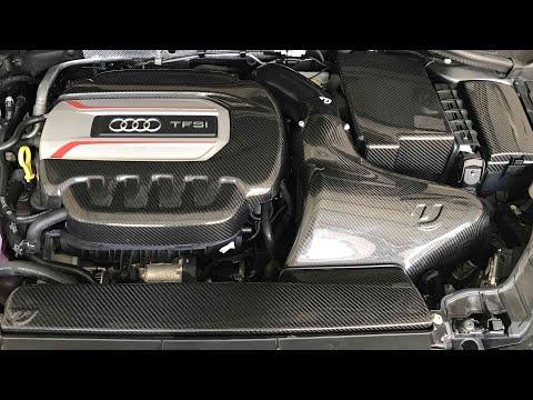 Audi S3 Carbon Fibre Engine Bay