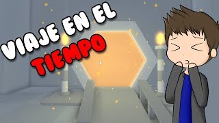 TRAVEL IN TIME IN ROBLOX | Time Travel Obby roblox in Spanish