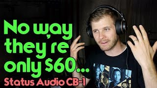 "Video Arguably Best ""Cheap"" Mixing Headphones - Status Audio CB-1 Revie download MP3, 3GP, MP4, WEBM, AVI, FLV Agustus 2018"