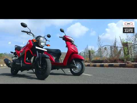 Honda Navi vs Honda Activa | Scooter Comparison | Bike Dekho
