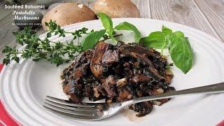 Sautéed Balsamic Portobello Mushrooms | Dietplan-101.com