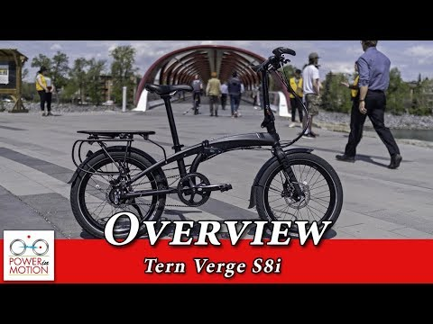 Tern Verge S8i Overview   Folding Bike Calgary, Alberta, Canada   Edmonton   Vancouver   Ontario