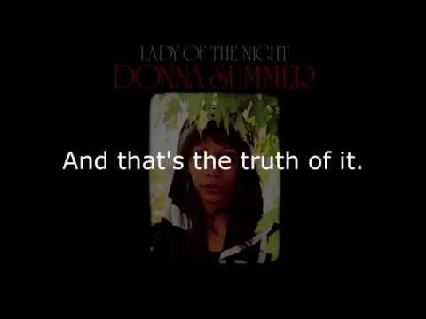 Donna Summer - Little Miss Fit LYRICS Remastered