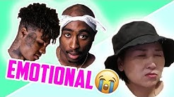 *EMOTIONAL* Korean Mom REACTS to BLUEFACE vs. TUPAC: She CRIES!!!