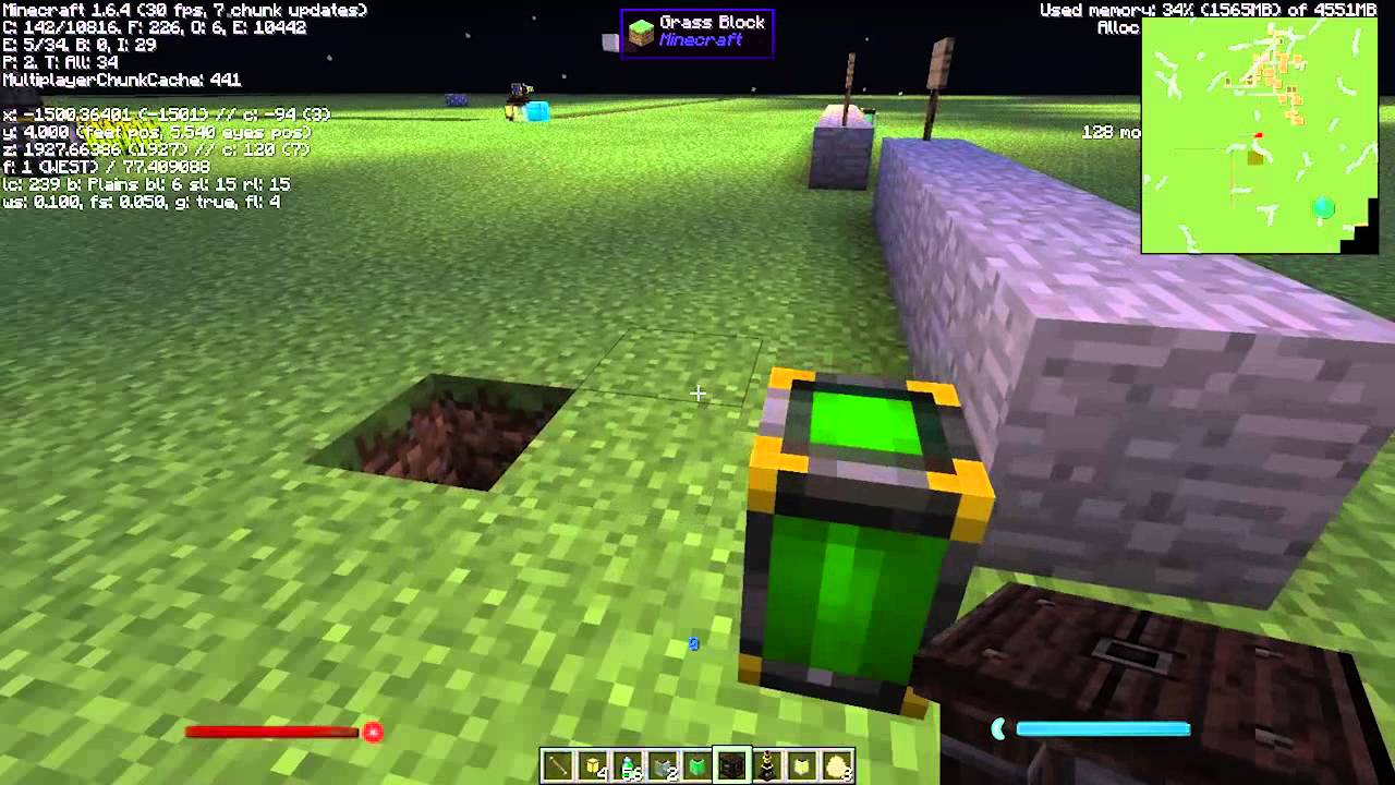 Thaumcraft 4 Tutorial: Arcane Lamp and Lamp of Growth - YouTube