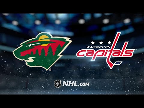 Kuznetsov, Holtby lead Capitals past Wild, 3-1