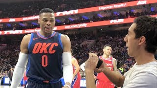 SHOWING RUSSELL WESTBROOK MY KEVIN DURANT DISS TRACK!! NOT CLICKBAIT thumbnail