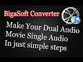 How To Remove One Audio Track From Dual Audio Track Movie | 2017