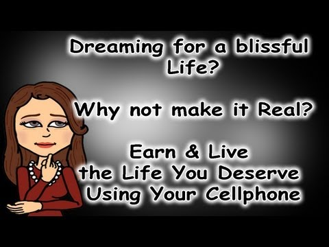 make money using your cell phone
